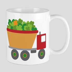 st patricks day dump truck Mugs