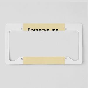 1- License Plate Holder