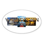 Whiskeytown Sticker (Oval 10 pk)