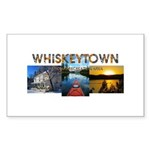 Whiskeytown Sticker (Rectangle 10 pk)