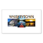 Whiskeytown Sticker (Rectangle 50 pk)