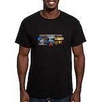 Whiskeytown Men's Fitted T-Shirt (dark)