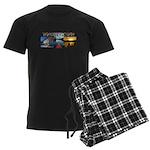 Whiskeytown Men's Dark Pajamas