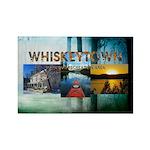 Whiskeytown Rectangle Magnet
