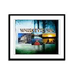 Whiskeytown Framed Panel Print
