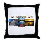 Whiskeytown Throw Pillow