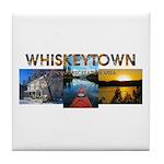 Whiskeytown Tile Coaster