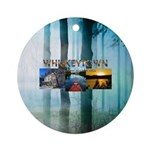 Whiskeytown Round Ornament