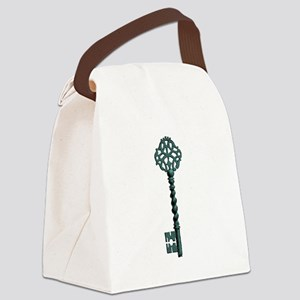 Skeleton Key Canvas Lunch Bag
