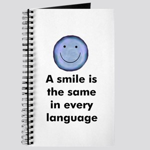 A smile is the same in every Journal