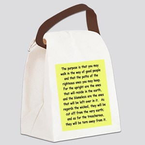 1 Canvas Lunch Bag