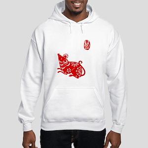 Asian Rat - Hooded Sweatshirt