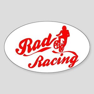 Rad Racing Oval Sticker