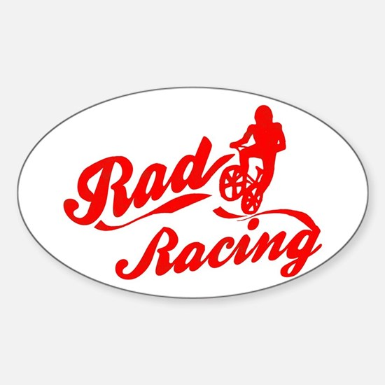 Rad Racing Oval Decal