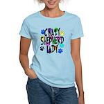 Crazy Shepherd Lady Women's Light T-Shirt