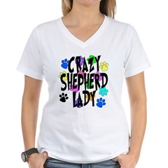Crazy Shepherd Lady Shirt