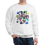 Crazy Shepherd Lady Sweatshirt