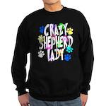 Crazy Shepherd Lady Sweatshirt (dark)