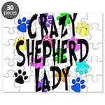 Crazy Shepherd Lady Puzzle