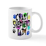 Crazy Shepherd Lady Mug