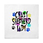 Crazy Shepherd Lady Queen Duvet