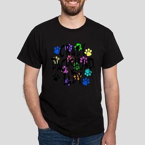 Crazy Dachshund Lady Dark T-Shirt