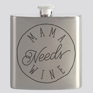 Mama Needs Wine Flask