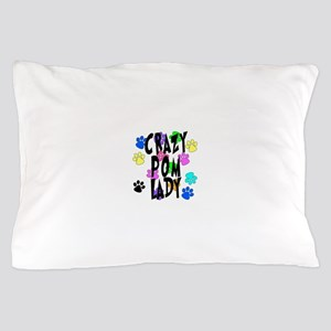 Crazy Pom Lady Pillow Case