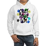 Crazy Dogue Lady Hooded Sweatshirt