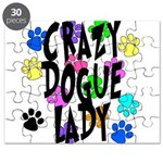 Crazy Dogue Lady Puzzle