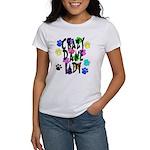 Crazy Dane Lady Women's T-Shirt