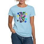 Crazy Dane Lady Women's Light T-Shirt