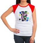 Crazy Dane Lady Women's Cap Sleeve T-Shirt