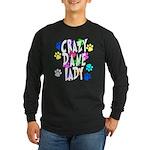 Crazy Dane Lady Long Sleeve Dark T-Shirt