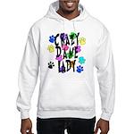 Crazy Dane Lady Hooded Sweatshirt