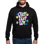 Crazy Dane Lady Hoodie (dark)
