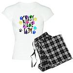 Crazy Dane Lady Women's Light Pajamas