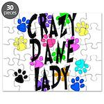 Crazy Dane Lady Puzzle