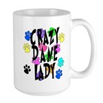 Crazy Dane Lady Large Mug