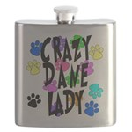 Crazy Dane Lady Flask
