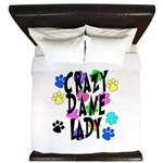 Crazy Dane Lady King Duvet