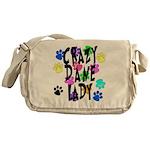 Crazy Dane Lady Messenger Bag