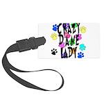 Crazy Dane Lady Large Luggage Tag