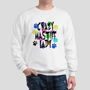 Crazy Mastiff Lady Sweatshirt