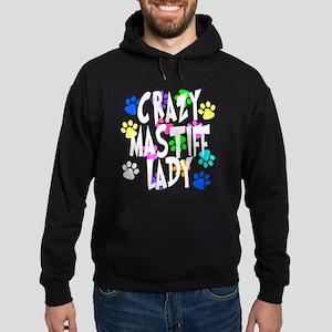 Crazy Mastiff Lady Hoodie (dark)