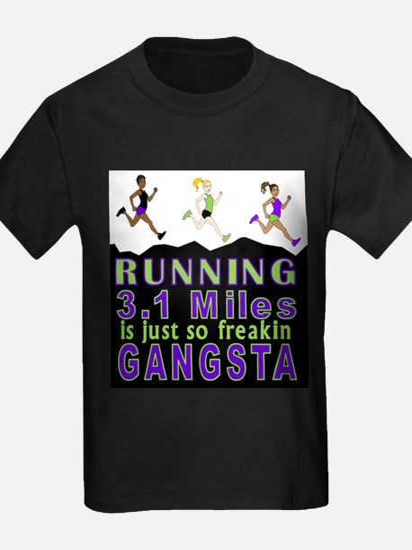 RUNNING IS SO GANGSTA 5K T-Shirt