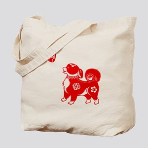 Asian Dog - Tote Bag