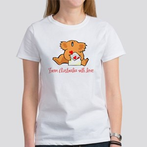 From Australia With Love Women's T-Shirt