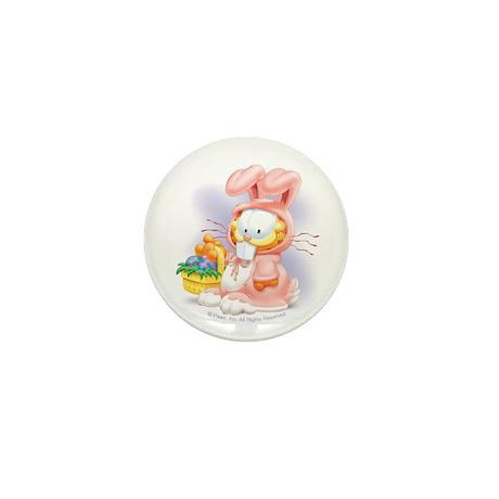 Easter Kitty Mini Button