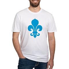 Blue Fleur De Lis Shirt